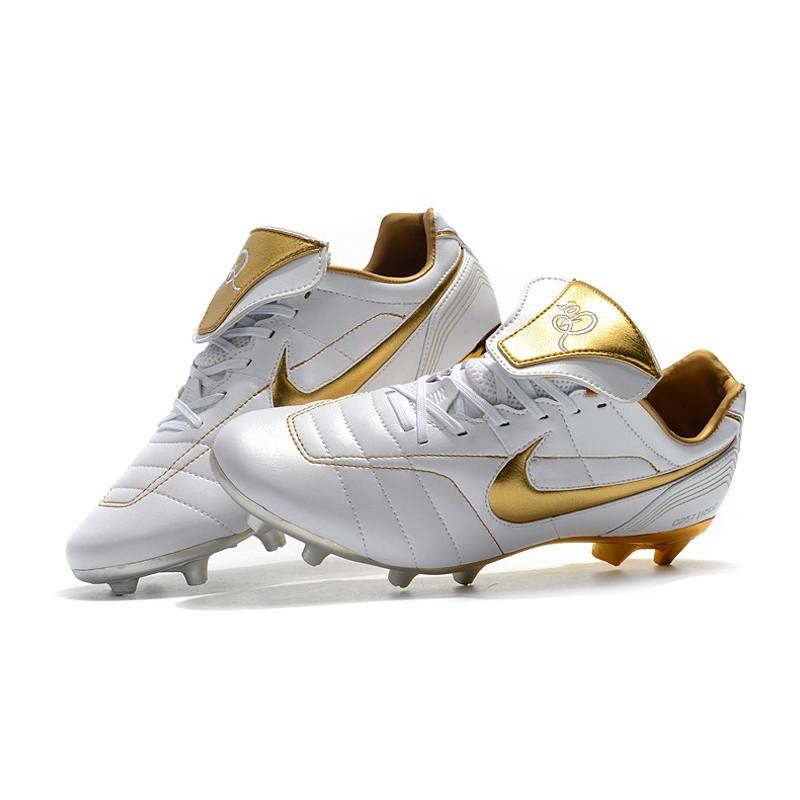 Legend Fg Oro R10 Tiempo Botas Blanco Nike Ac5q3jS4LR