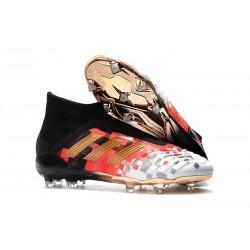 adidas Zapatos de Futbol Predator 18+ FG Telstar