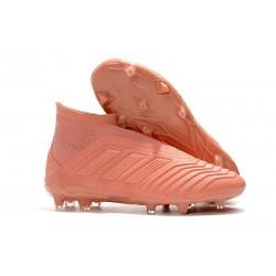adidas Zapatos de Futbol Predator 18+ FG Rosa
