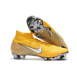 Nike Zapatillas Mercurial Superfly 6 Elite DF FG - Amarillo Blanco
