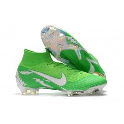 Nike Zapatillas Mercurial Superfly 6 Elite DF FG - Verde Blanco