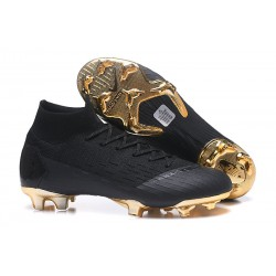 Nike Zapatillas Mercurial Superfly 6 Elite DF FG - Negro Oro