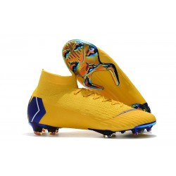 Zapatos Nike Mercurial Superfly 360 Elite FG - Amarillo Azul