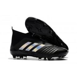 adidas Zapatos de Futbol Predator 18+ FG Negro Argento