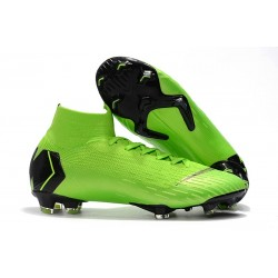 Zapatos Nike Mercurial Superfly 360 Elite FG - Verde Negro
