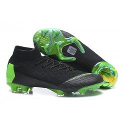 Zapatos Nike Mercurial Superfly 360 Elite FG - Negro Verde