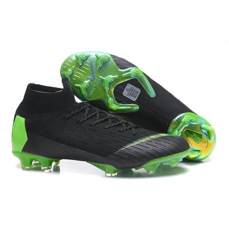 Zapatos Nike Mercurial Superfly 360 Elite FG - Negro Verde