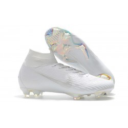 Nike Mercurial Superfly VI Elite FG Tacón - Blanco
