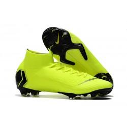 Nike Mercurial Superfly VI Elite FG Tacón - Verde Negro