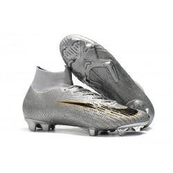 Bota Nuevo Nike Mercurial Superfly 6 Elite DF FG Plata Negro