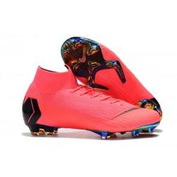 Bota Nuevo Nike Mercurial Superfly 6 Elite DF FG Rosa Negro
