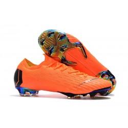 Botas de Fútbol Nike Mercurial Vapor XII Elite FG Naranja Negro