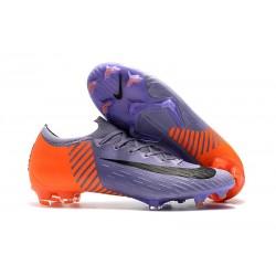 Botas de Fútbol Nike Mercurial Vapor XII Elite FG Violeta Naranja