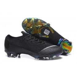 Zapatos Nike Mercurial Vapor 12 Elite FG - Negro Blanco