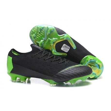 Zapatos Nike Mercurial Vapor 12 Elite FG - Negro Verde