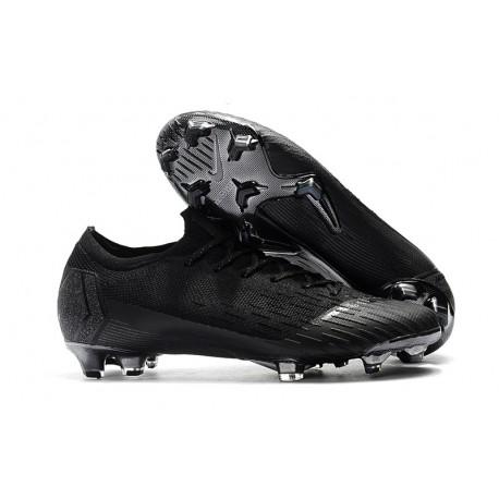 Zapatos Nike Mercurial Vapor 12 Elite FG - Negro