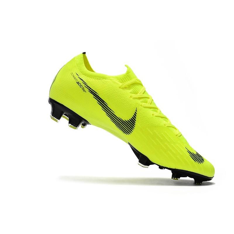Zapatos Nike Mercurial Vapor 12 Elite FG Voltio Negro