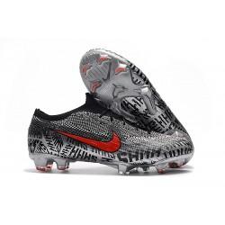 Nike Mercurial Vapor XII Elite FG Zapatillas Neymar Negro Blanco Rojo