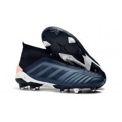 adidas Zapatos de Futbol Predator 18+ FG Cian