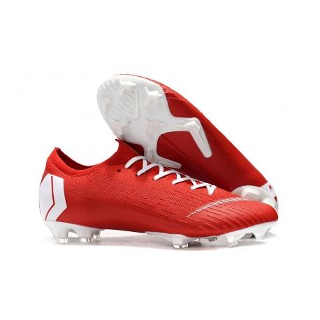 Nike Mercurial Vapor XII Elite FG Zapatillas Hombre Rojo Blanco