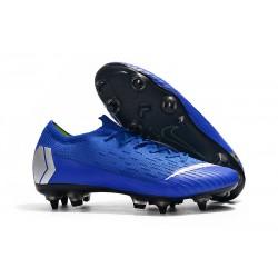 Botas de fútbol Nike Mercurial Vapor 12 Elite Sg Pro Ac Azul Plata