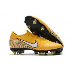 Neymar Botas de fútbol Nike Mercurial Vapor 12 Elite Sg Pro Ac Amarillo
