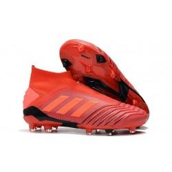 Zapatos de fútbol adidas Predator 19+ FG Rojo