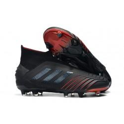 Zapatos de fútbol adidas Predator 19+ FG Negro