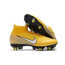 Neymar Nike Bota de Futbol Mercurial Superfly 6 Elite SG-Pro Amarillo