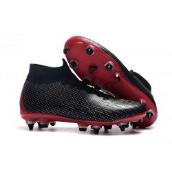 Nike x Jordan Bota de Futbol Mercurial Superfly 6 Elite SG-Pro Negro Rojo