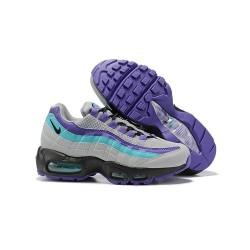 Zapatillas Nike Air Max 95 Hombres Gris Violeta Azul