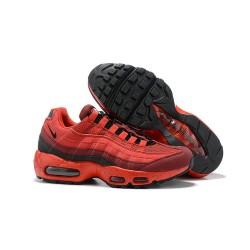 Zapatillas Nike Air Max 95 Hombres Rojo Negro