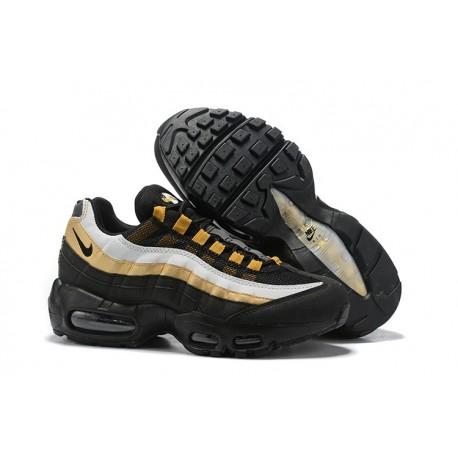 Zapatillas Nike Air Max 95 Hombres Negro Oro