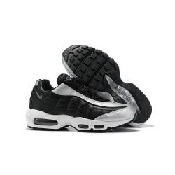 Zapatillas Nike Air Max 95 Hombres Negro Plata