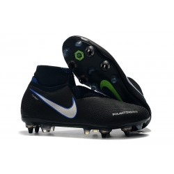 Nike Phantom Vision Elite DF SG-PRO AC Negro Azul Plata