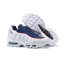 Zapatillas Nike Air Max 95 Hombres Blanco Azul