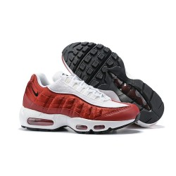 Zapatillas Nike Air Max 95 Hombres Rojo Blanco