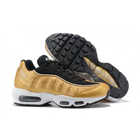 Zapatillas Nike Air Max 95 Hombres Oro Negro