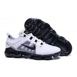 Nike Zapatillas Hombres Air VaporMax 2019 Blanco Negro