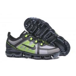 Nike Zapatillas Hombres Air VaporMax 2019 Negro Verde
