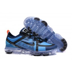Nike Zapatillas Hombres Air VaporMax 2019 Negro Azul