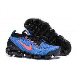 Zapato Nike Air VaporMax Flyknit 2019 - Azul Rojo