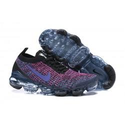 Zapato Nike Air VaporMax Flyknit 2019 - Negro Violeta