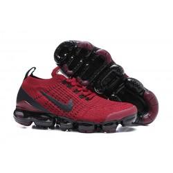 Zapato Nike Air VaporMax Flyknit 2019 - Rojo Negro