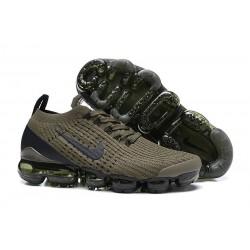 Zapato Nike Air VaporMax Flyknit 2019 - Verde Negro