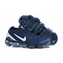 Zapato Nike Air VaporMax Flyknit 2019 - Azul Blanco