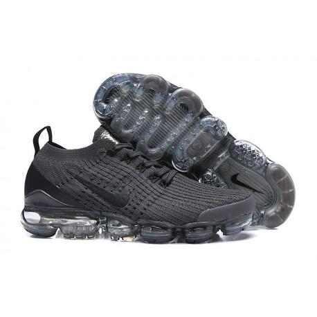 Zapato Nike Air VaporMax Flyknit 2019 - Negro Gris