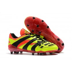 Zapatos de Fútbol adidas Predator Accelerator FG Amarillo Rojo Negro