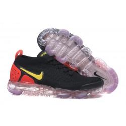Zapatillas Nike Air Vapormax Flyknit 2.0 Negro Naranja