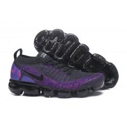 Zapatillas Nike Air Vapormax Flyknit 2.0 Violeta Negro